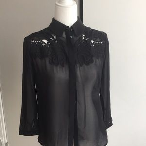 Ted  Baker lace blouse
